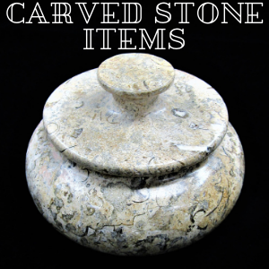 Carved Stone Items